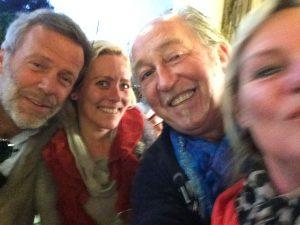 31 dec 2014, Rob Danie, Clemens en Dianne