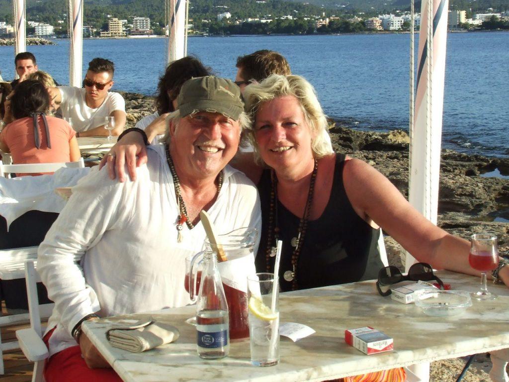Cafe del Mar met Dianne en Clemens