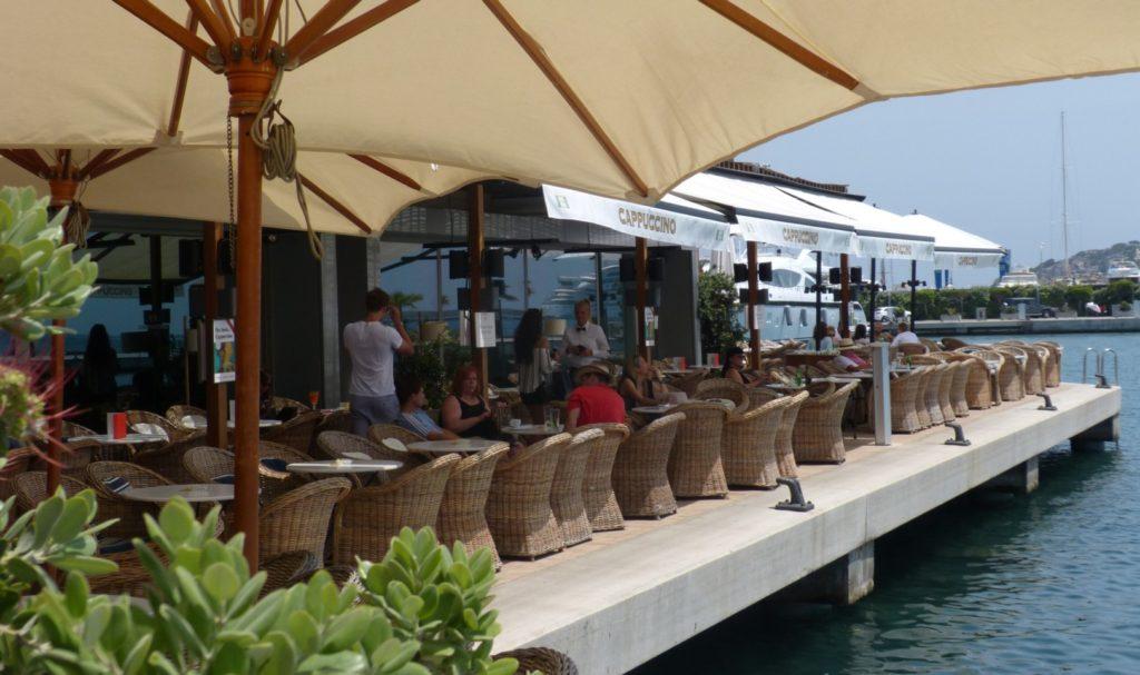 Ibiza stad Haven Cappuccino 1