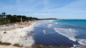 Ibiza strand ses salines