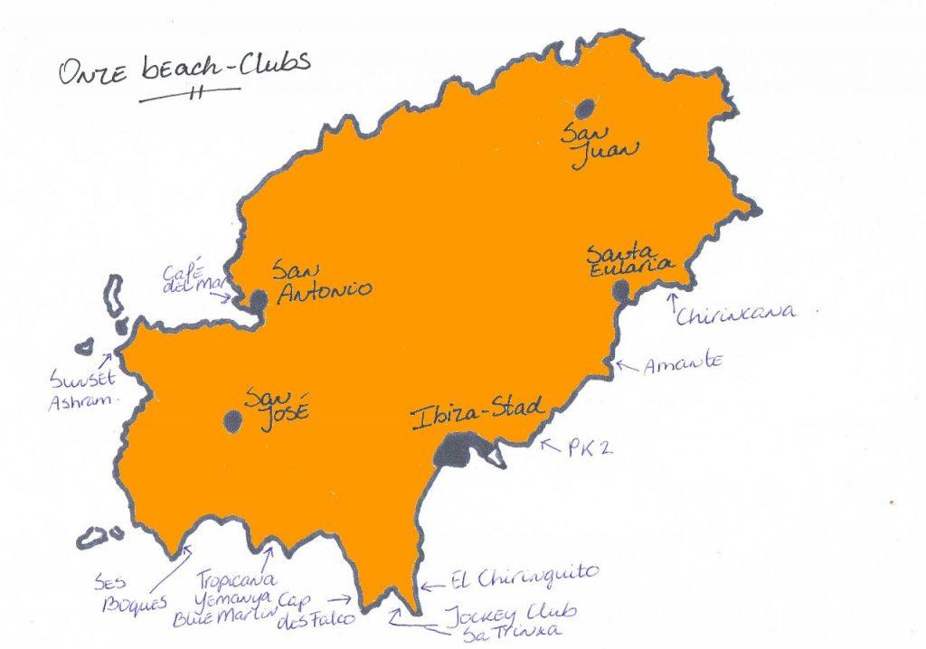 Onze Beach-Clubs