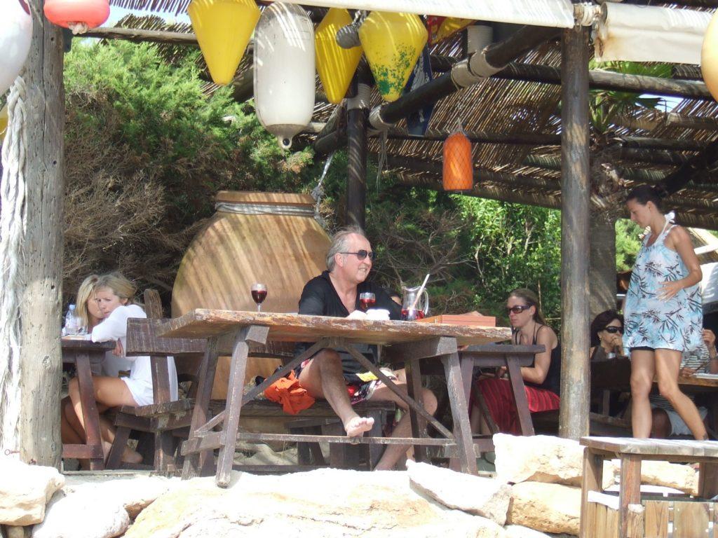 even relaxen bij de Jockey Club in 2009