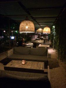 The Giri cafe - tuin