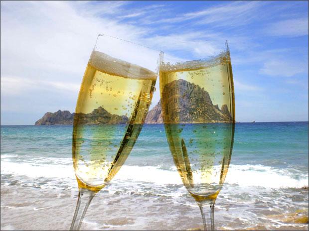 Ibiza-champagne